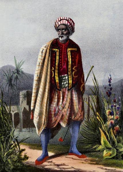 Costumes, Moeurs et Usages des Algeriens - Maure d'Alger (1837)