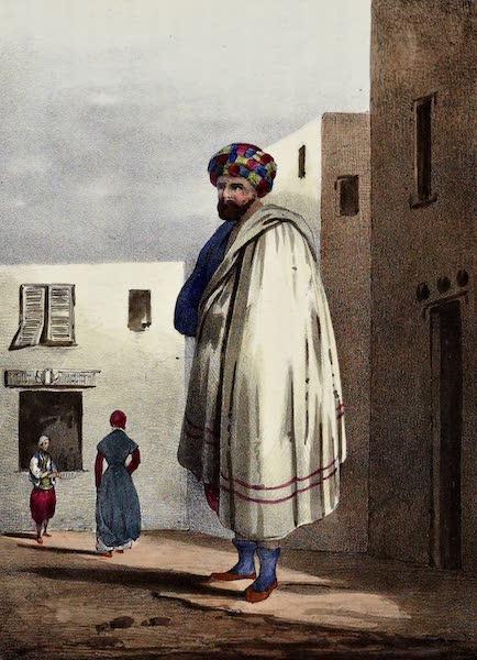 Costumes, Moeurs et Usages des Algeriens - Un Coulouglis, Costume d'hiver (1837)