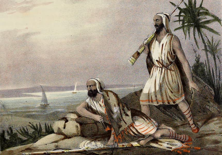 Costumes, Moeurs et Usages des Algeriens - Cabyles (1837)