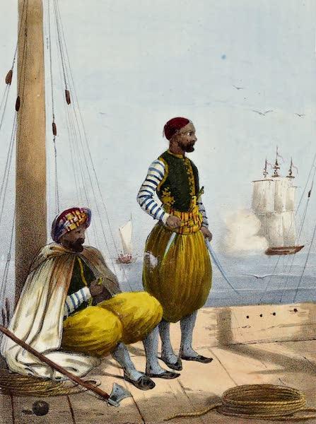 Costumes, Moeurs et Usages des Algeriens - Corsaires Algeriens (1837)