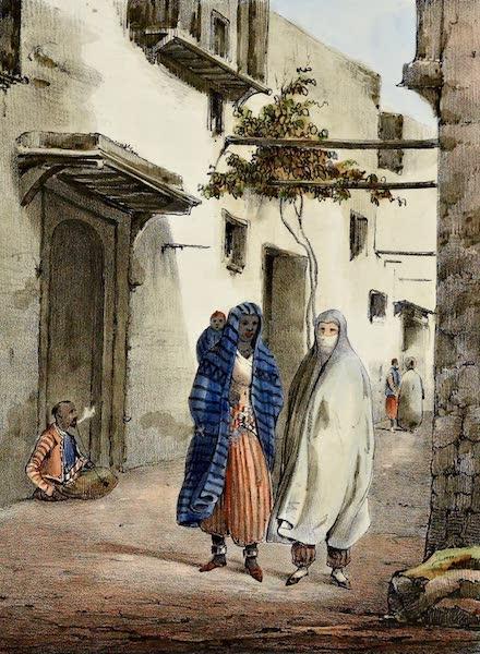 Femmes Maures hors maison