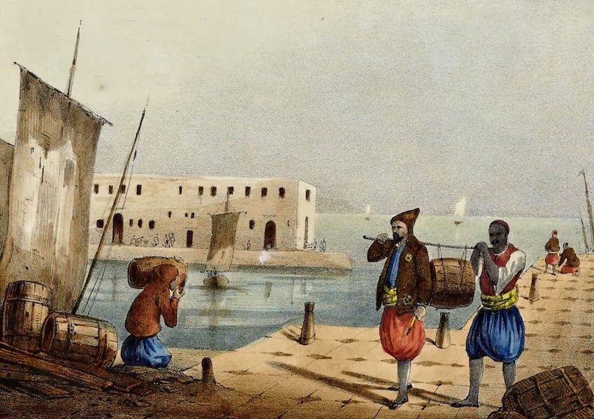 Costumes, Moeurs et Usages des Algeriens - Porte Faix d'Alger (1837)