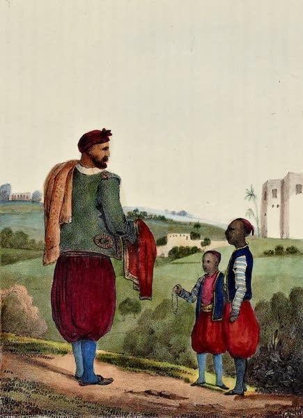 Costumes, Moeurs et Usages des Algeriens - Juifs d'Alger (1837)