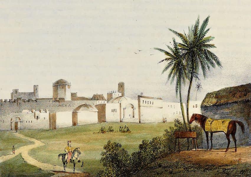 Costumes, Moeurs et Usages des Algeriens - La Porte Bab-el-Oued (1837)