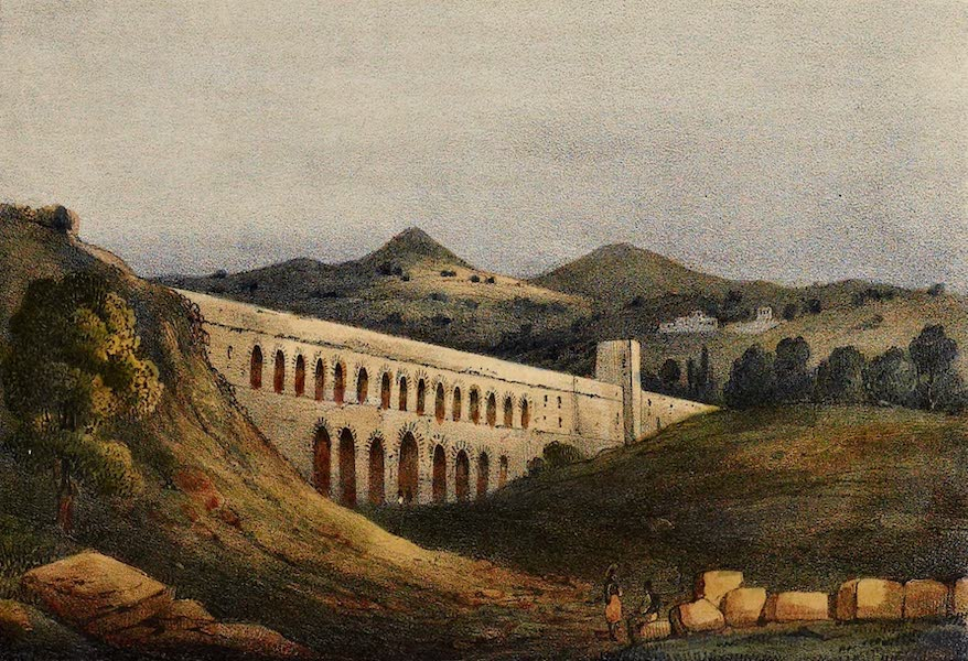 Costumes, Moeurs et Usages des Algeriens - Aqueduc de Mustapha Pacha (1837)