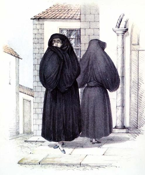 Costumes of the Canary Islands - Manto y Saya Canaries (1829)