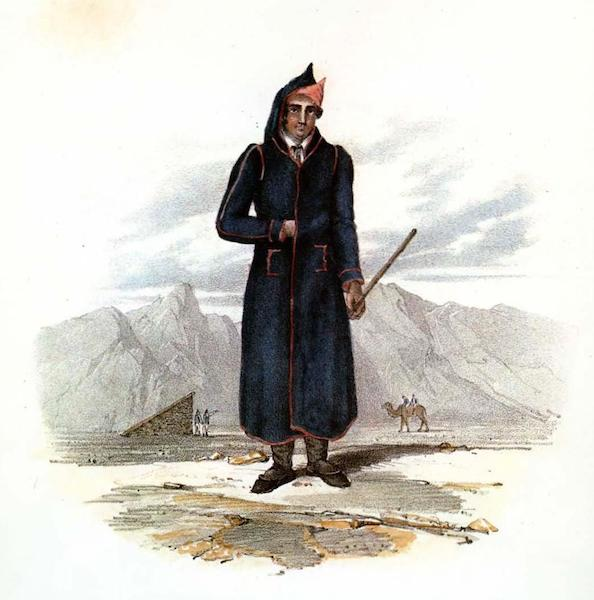 Costumes of the Canary Islands - Winter Dress of a Native of Lanzarote (1829)
