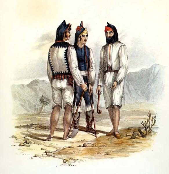 Costumes of the Canary Islands - Natives of Fuerteventura (1829)