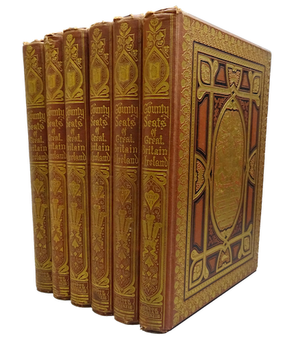County Seats of Great Britain and Ireland Vol. 1 - Book Display I (1880)
