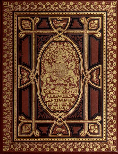 County Seats of Great Britain and Ireland Vol. 1 - Front Cover (1880)