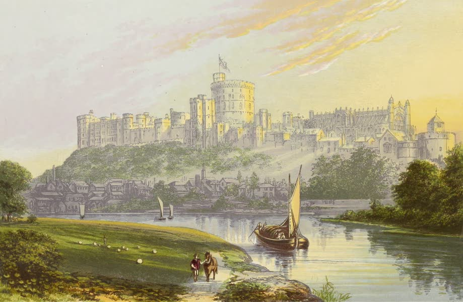 County Seats of Great Britain and Ireland Vol. 1 - Windsor Castle (1880)