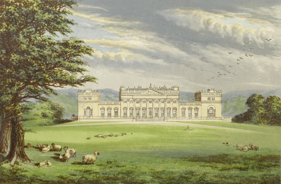 County Seats of Great Britain and Ireland Vol. 1 - Harewood House (1880)
