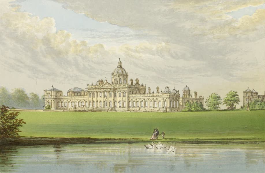 County Seats of Great Britain and Ireland Vol. 1 - Castle Howard (1880)
