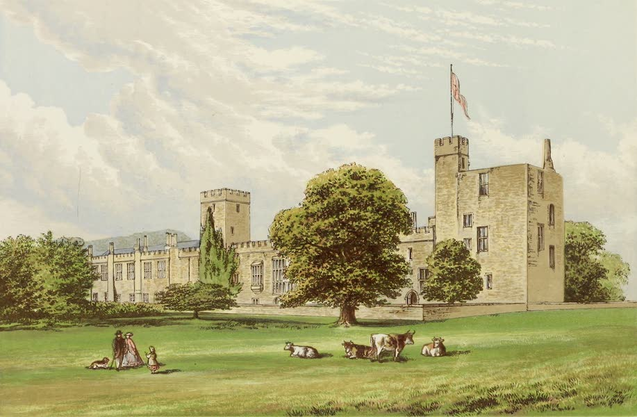 County Seats of Great Britain and Ireland Vol. 1 - Sudeley Castle (1880)