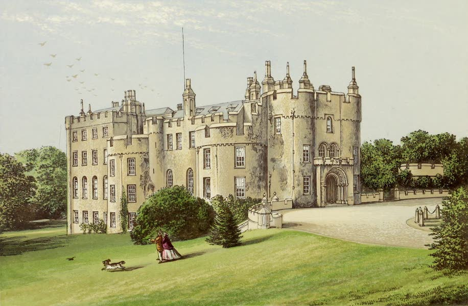 County Seats of Great Britain and Ireland Vol. 1 - Picton Castle (1880)