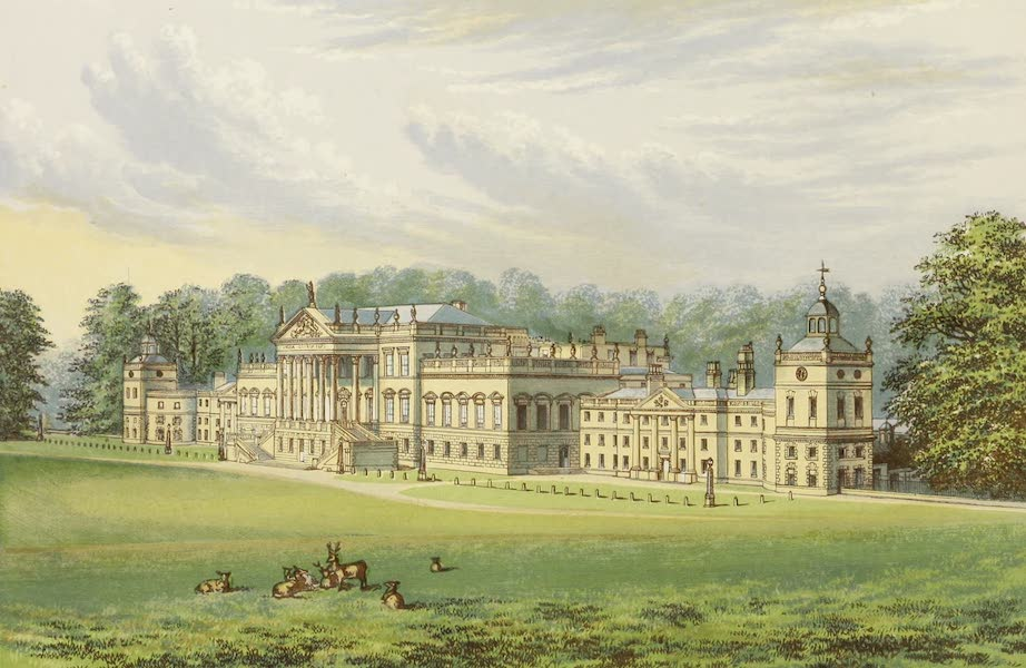 County Seats of Great Britain and Ireland Vol. 1 - Wentworth Woodhouse (1880)