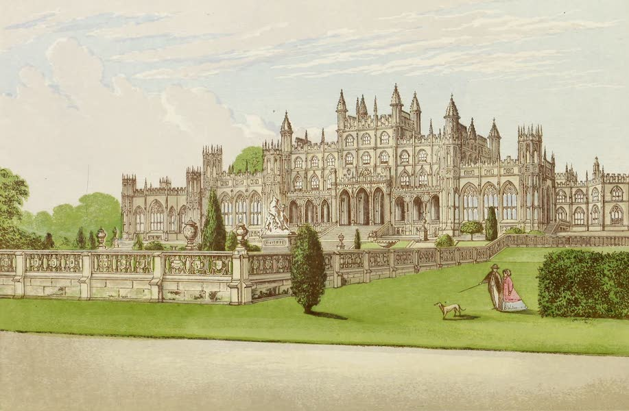 County Seats of Great Britain and Ireland Vol. 1 - Eaton Hall (1880)