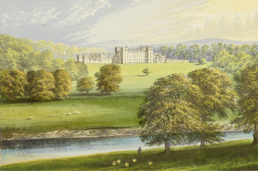 County Seats of Great Britain and Ireland Vol. 1 - Floor's Castle (1880)