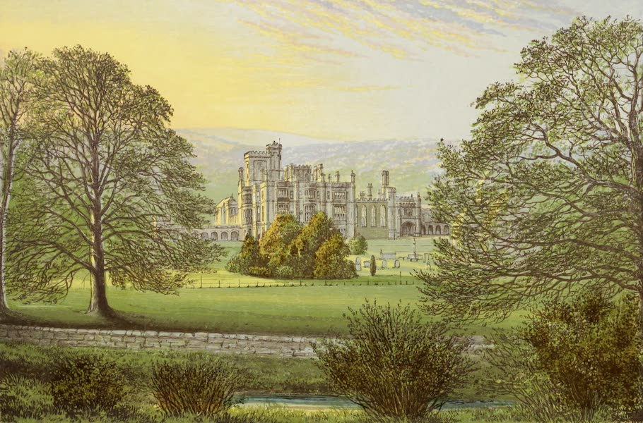 County Seats of Great Britain and Ireland Vol. 1 - Ilam Hall (1880)