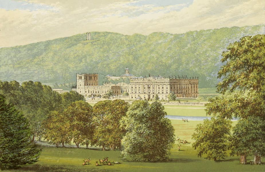 County Seats of Great Britain and Ireland Vol. 1 - Chatsworth (1880)