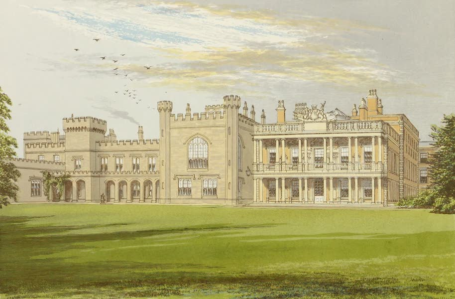 County Seats of Great Britain and Ireland Vol. 1 - Knowsley Hall (1880)