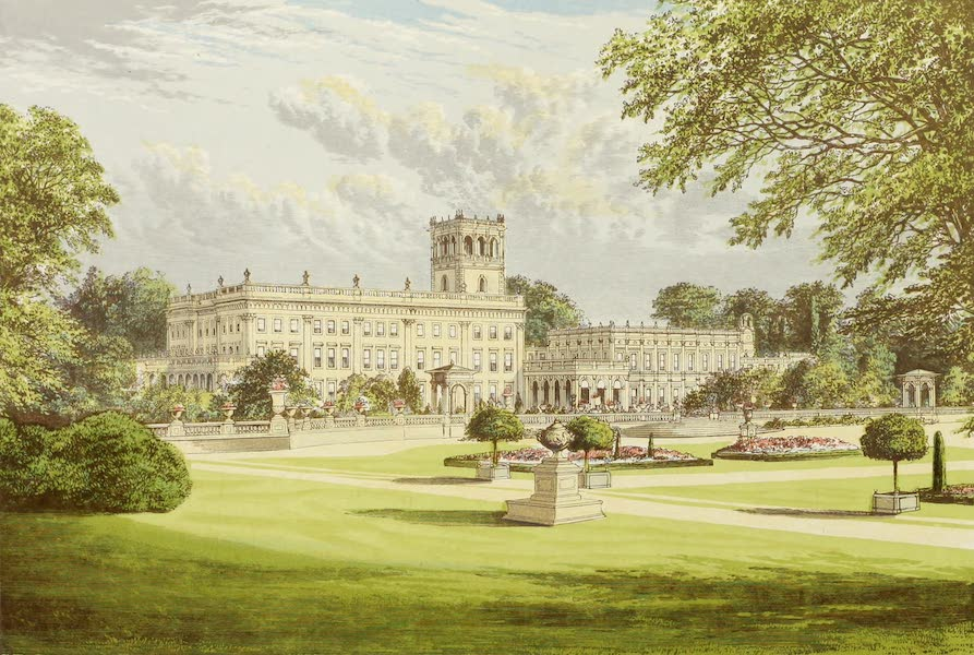 County Seats of Great Britain and Ireland Vol. 1 - Trentham Hall (1880)