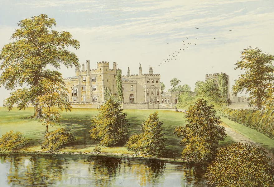 County Seats of Great Britain and Ireland Vol. 1 - Ripley Castle (1880)