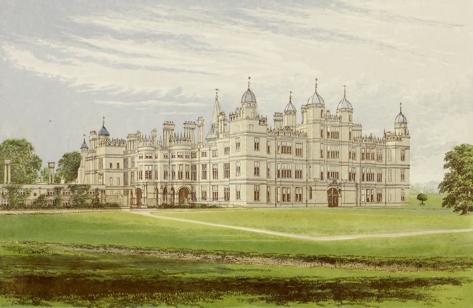 County Seats of Great Britain and Ireland Vol. 1 - Burghley House (1880)