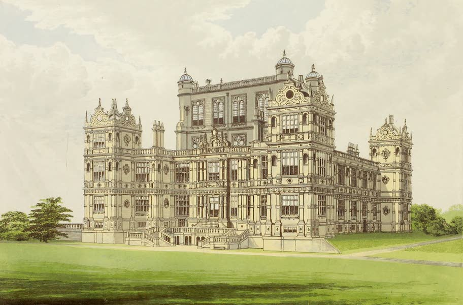 County Seats of Great Britain and Ireland Vol. 1 - Wollaton Hall (1880)