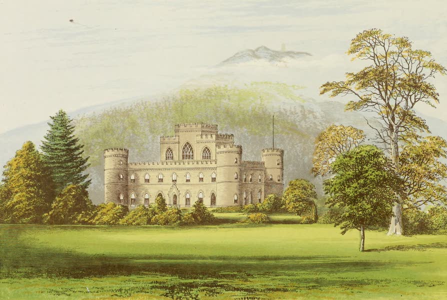 County Seats of Great Britain and Ireland Vol. 1 - Inverary Castle (1880)