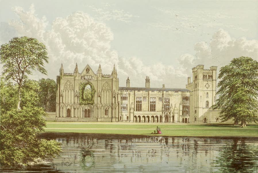 County Seats of Great Britain and Ireland Vol. 1 - Newstead Abbey (1880)