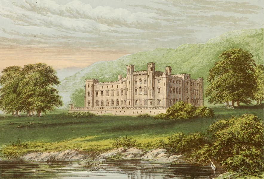 County Seats of Great Britain and Ireland Vol. 1 - Scone Palace (1880)