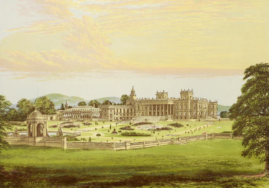 County Seats of Great Britain and Ireland Vol. 1 - Whitley Court (1880)