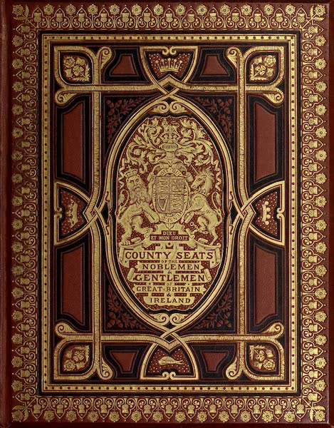 County Seats of Great Britain and Ireland Vol. 2 - Front Cover (1880)