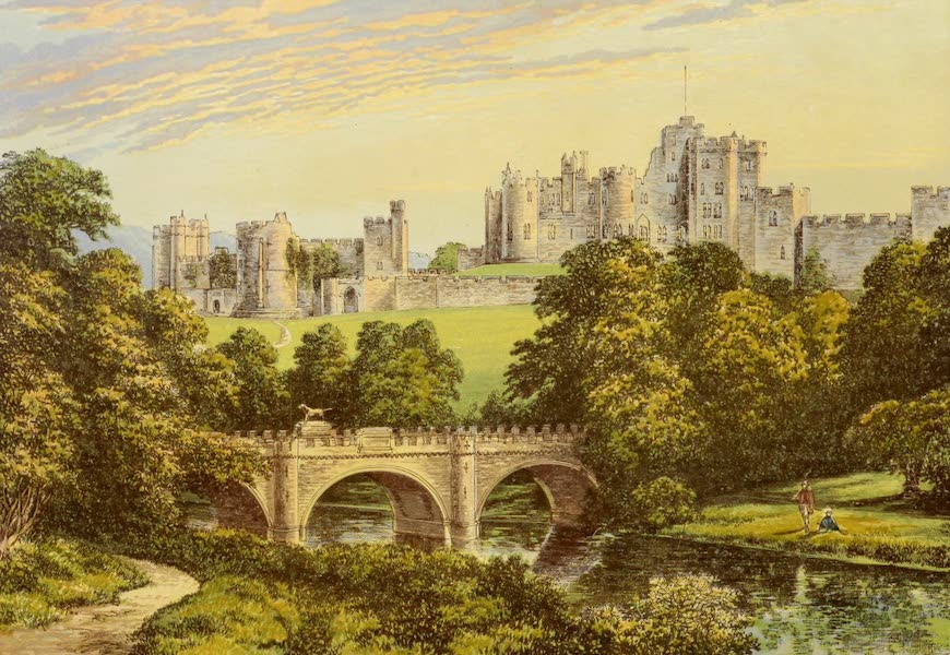 County Seats of Great Britain and Ireland Vol. 2 - Alnwick Castle (1880)