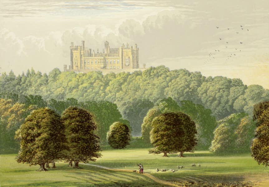 County Seats of Great Britain and Ireland Vol. 2 - Belvoir Castle (1880)