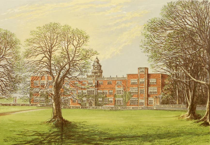 County Seats of Great Britain and Ireland Vol. 2 - Hatfield House (1880)