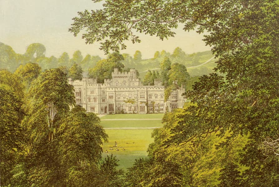 County Seats of Great Britain and Ireland Vol. 2 - Hampton Court (1880)