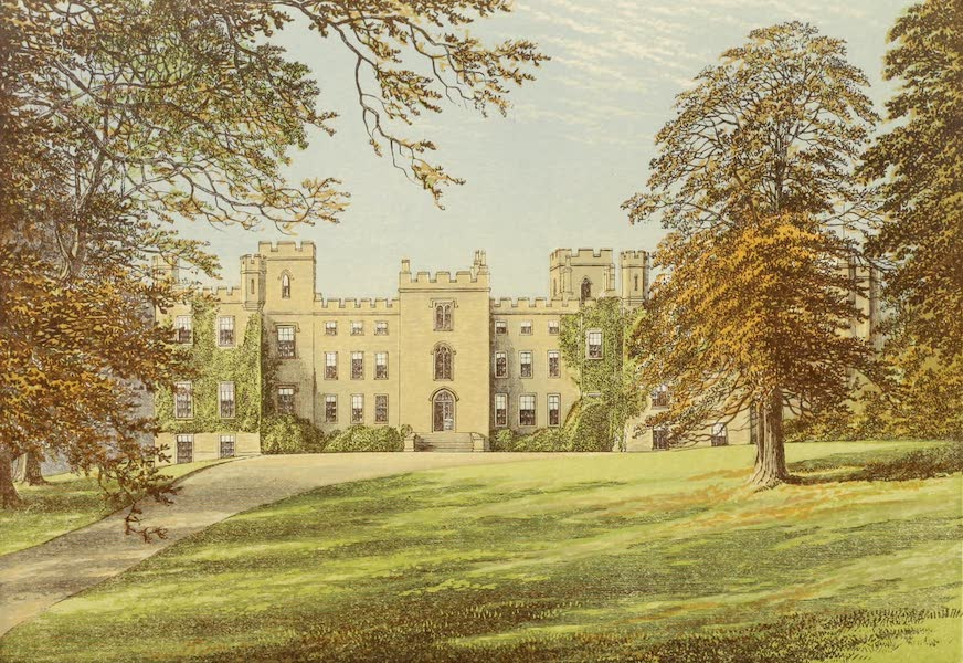 County Seats of Great Britain and Ireland Vol. 2 - Mulgrave Castle (1880)