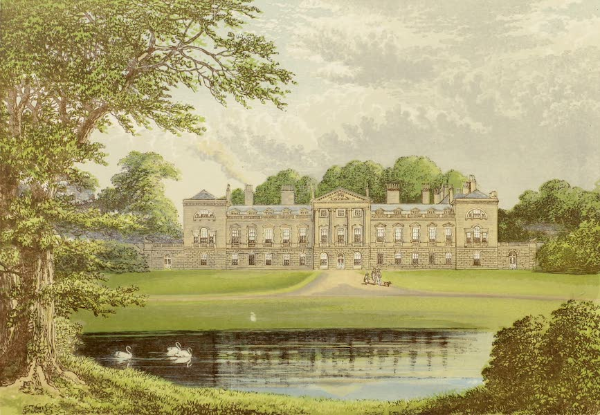 County Seats of Great Britain and Ireland Vol. 2 - Woburn Abbey (1880)
