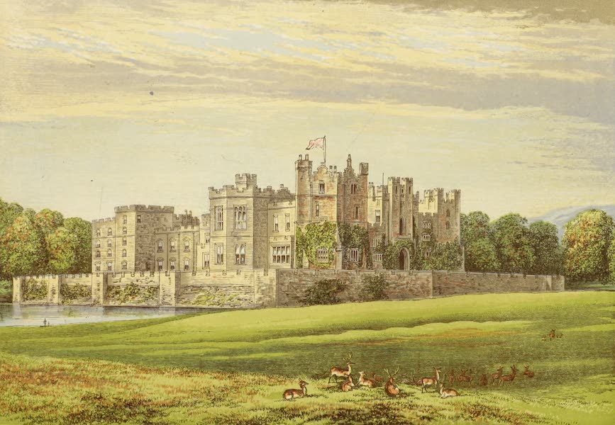 County Seats of Great Britain and Ireland Vol. 2 - Raby Castle (1880)
