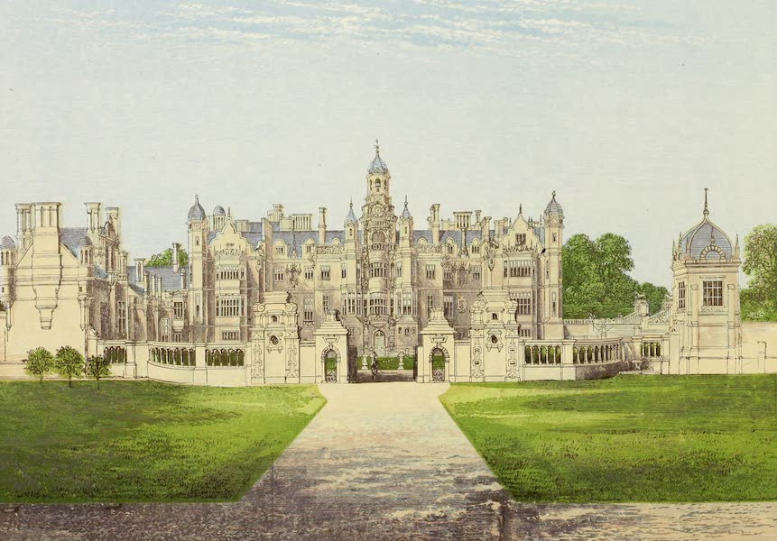 County Seats of Great Britain and Ireland Vol. 2 - Harlaxton Manor (1880)