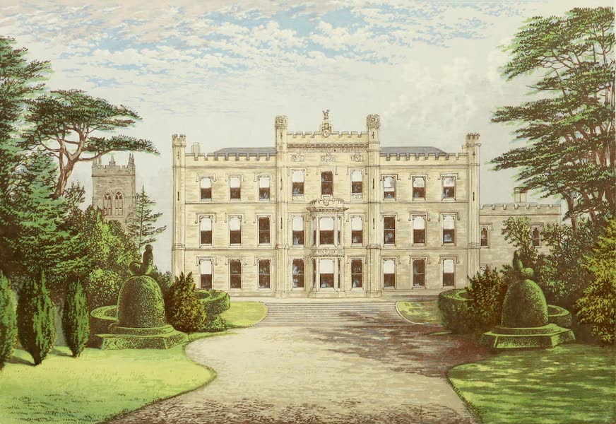 County Seats of Great Britain and Ireland Vol. 2 - Elvaston Castle (1880)