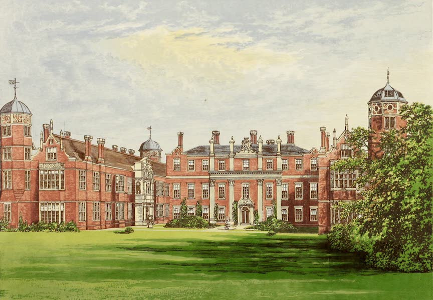 County Seats of Great Britain and Ireland Vol. 2 - Cobham Hall (1880)
