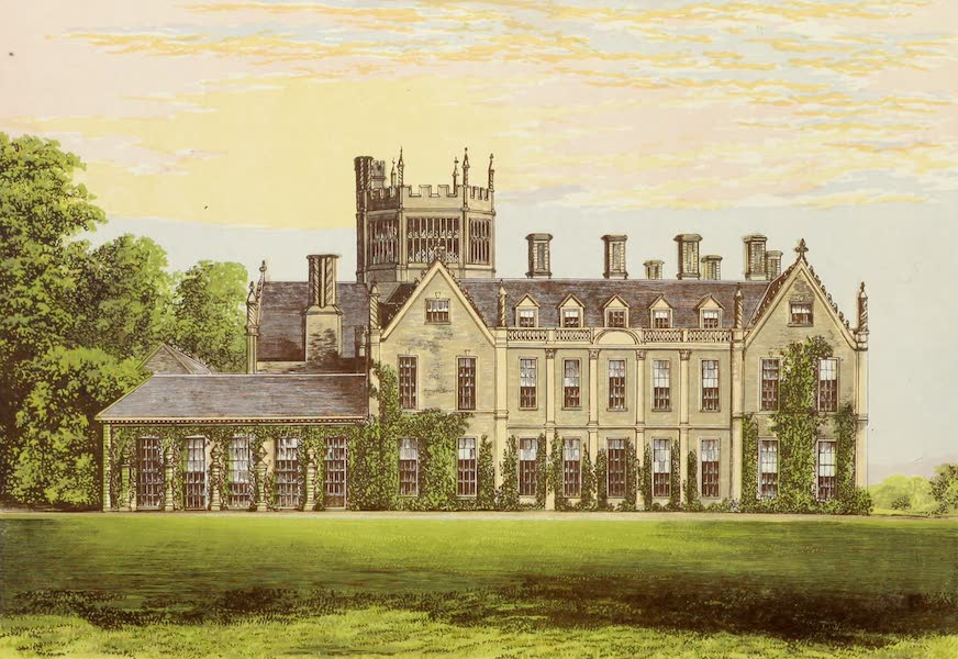 County Seats of Great Britain and Ireland Vol. 2 - Melbury House (1880)