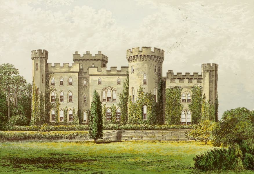 County Seats of Great Britain and Ireland Vol. 2 - Cholmondeley Castle (1880)
