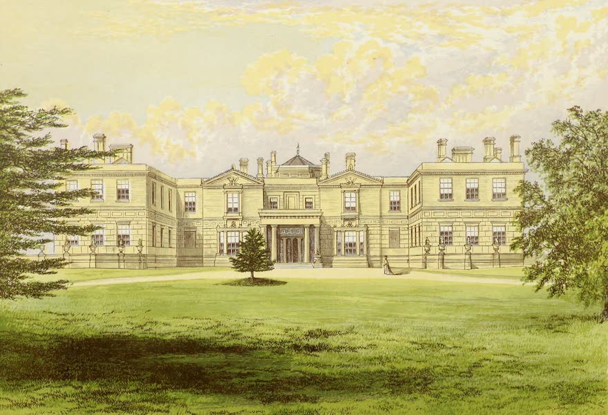 County Seats of Great Britain and Ireland Vol. 2 - Swithland Hall (1880)