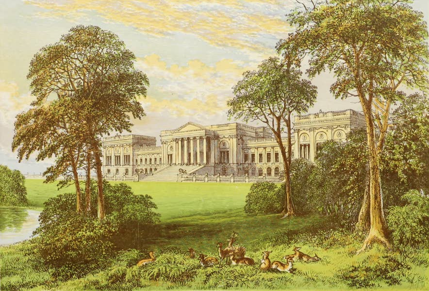 County Seats of Great Britain and Ireland Vol. 2 - Stowe Park (1880)