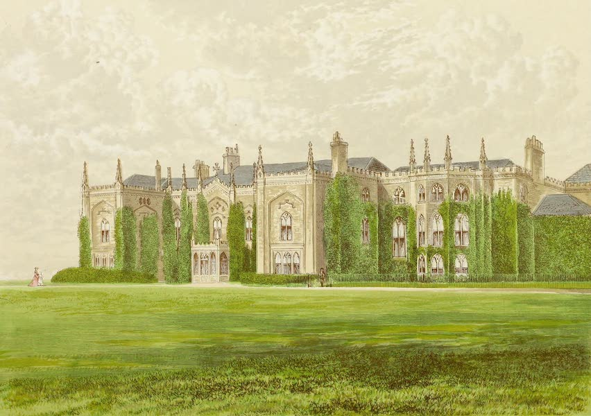 County Seats of Great Britain and Ireland Vol. 2 - Combermere Abbey (1880)