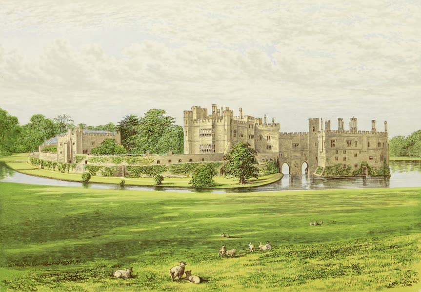 County Seats of Great Britain and Ireland Vol. 2 - Leeds Castle (1880)